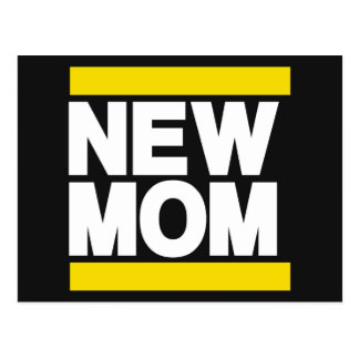 New Mom Yellow Post Cards