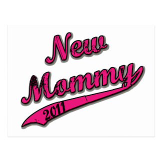 New Mommy 2011 Postcard