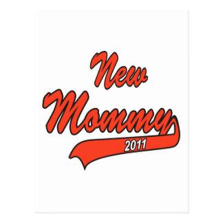 New Mommy 2011 Postcard
