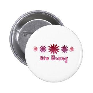 New Mommy 2 Inch Round Button