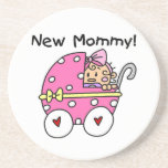 New Mommy Baby Girl Gifts Coasters