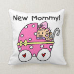 New Mommy Baby Girl Gifts Throw Pillow