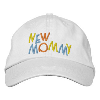 New Mommy Embroidered Baseball Cap