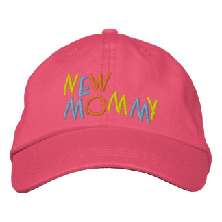 New Mommy Embroidered Hats
