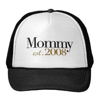 New Mommy Est 2008 Trucker Hat