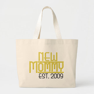 New Mommy Est 2009 Tote Bags