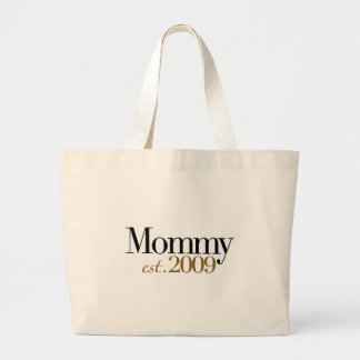 New Mommy Est 2009 Canvas Bag