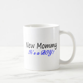 New Mommy Its A Boy Coffee Mug