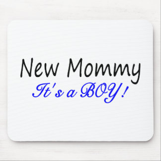 New Mommy Its A Boy Mouse Pad