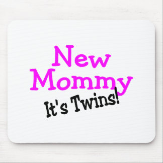 New Mommy Its Twins Mousepad