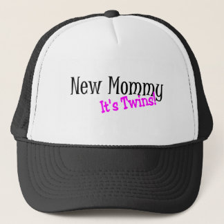 New Mommy Its Twins Trucker Hat