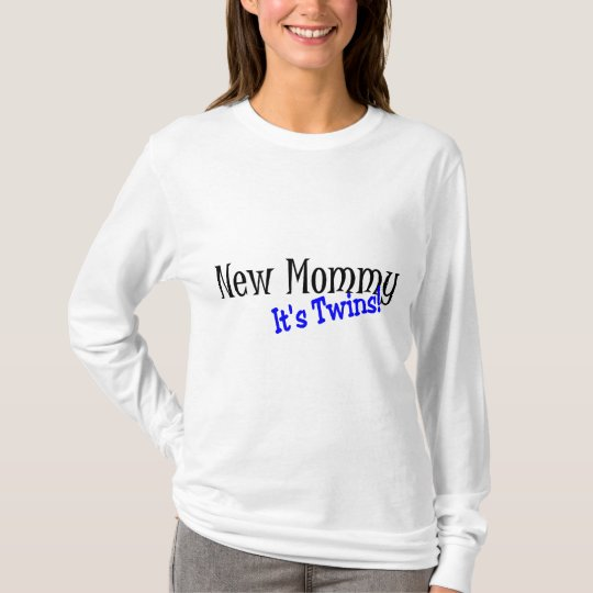 New Mommy Of Twins T-Shirt