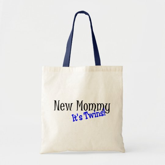 New Mommy Of Twins Tote Bag