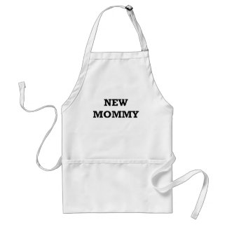 NEW MOMMY.png Adult Apron