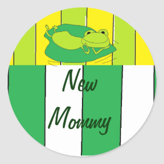 New Mommy Stickers