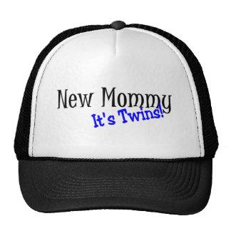 New Mommy Twins Trucker Hat
