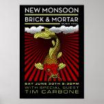 New Monsoon Brick & Mortar 2012 Poster