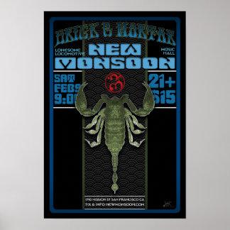 New Monsoon Brick & Mortar SF 2013 Poster