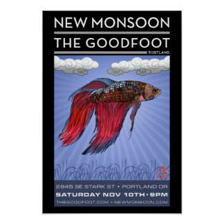 New Monsoon Goodfoot 2012 Poster