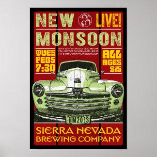 New Monsoon Sierra Nevada Brewing CO 2013 Poster