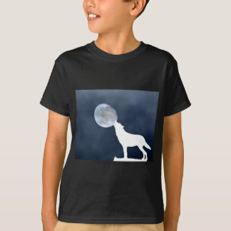 New Moon - howling wolf T-Shirt