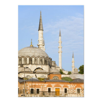 New Mosque and Egyptian Market in Istanbul Invitation