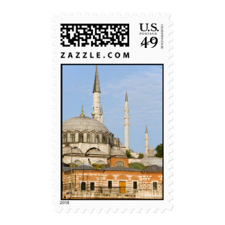 New Mosque and Egyptian Market in Istanbul Postage Stamp