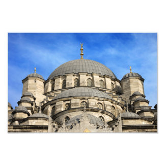 New Mosque Domes in Istanbul Photographic Print