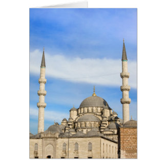 New Mosque in Istanbul Card