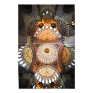 New Mosque Interior in Istanbul Art Photo