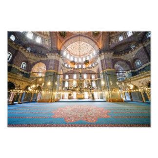 New Mosque Interior Art Photo