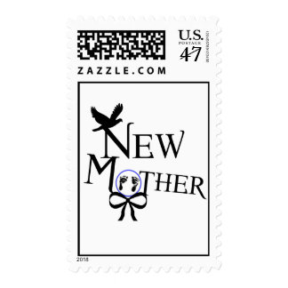 New Mother (for baby boy) Postage