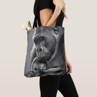 New Mother Gorilla Tote Bag