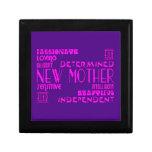 New Mothers & New Moms Baby Showers : Qualities Keepsake Box