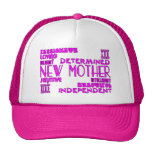 New Mothers & New Moms Baby Showers : Qualities Trucker Hats