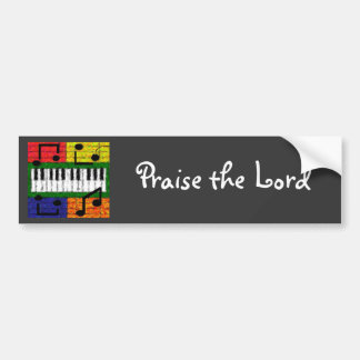 NEW MUSIC BUMPER STICKER