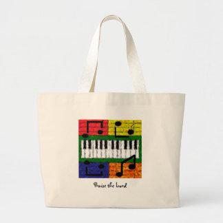 NEW MUSIC JUMBO TOTE BAG