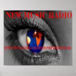 New Music Radio Poster