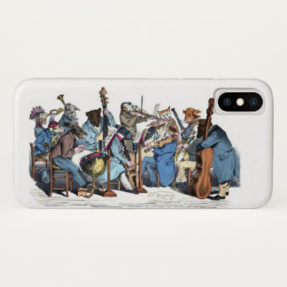 NEW MUSICAL LANGUAGE / ANIMAL FARM ORCHESTRA iPhone X CASE