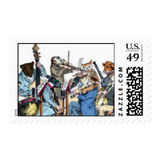NEW MUSICAL LANGUAGE / ANIMAL FARM ORCHESTRA POSTAGE STAMPS