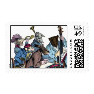 NEW MUSICAL LANGUAGE / ANIMAL FARM ORCHESTRA STAMPS