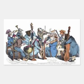 NEW MUSICAL LANGUAGE / ANIMAL FARM ORCHESTRA STICKER