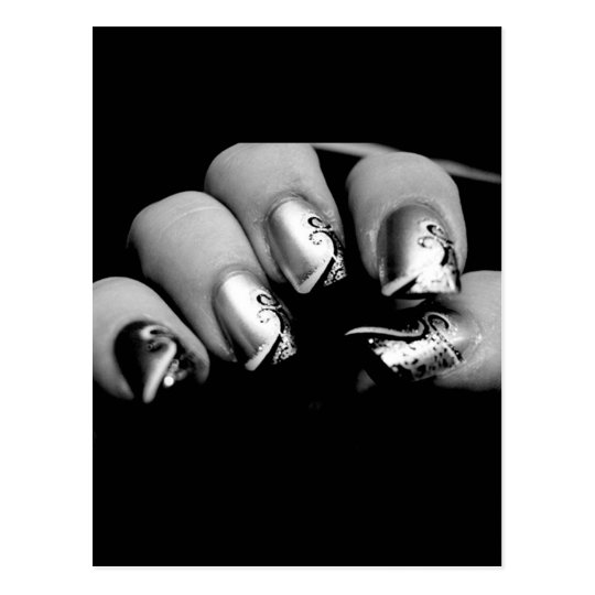 New nails postcard