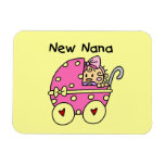 New Nana Baby in Carriage Gifts Vinyl Magnets