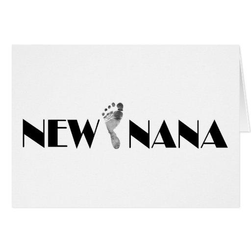 New Nana Greeting Card