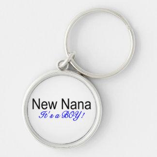 New Nana Its A Boy Keychain