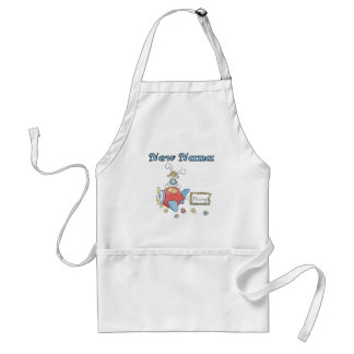 New Nana of Boy-Airplane Tshirts and Gifts Adult Apron