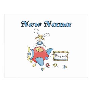 New Nana of Boy-Airplane Tshirts and Gifts Postcard