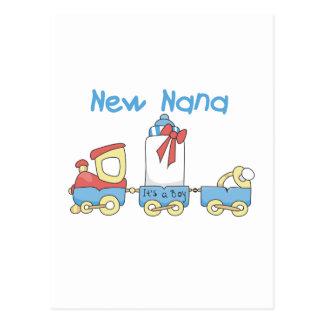 New Nana - Train Tshirts and Gift Postcard