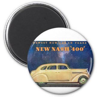 """New Nash """"400"""" 2 Inch Round Magnet"""